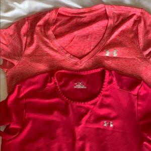 Under armour shirt bundle.